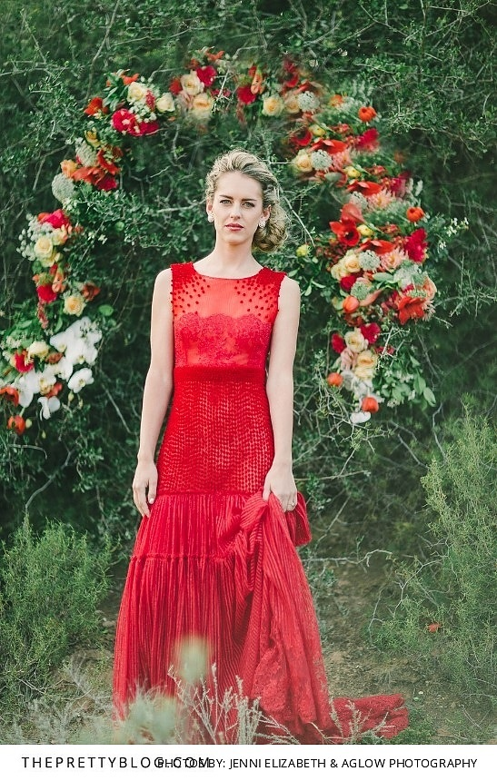 Orange Wedding Gown 92 Spectacular Veering away from traditional